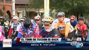 Olympic cyclist trainer to take part in El Tour [Video]
