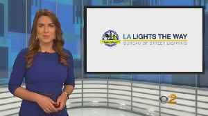 Garcetti Announces Design Competition For New Standard Streetlight [Video]