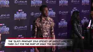 Chadwick Boseman auditioned for Guardians of the Galaxy [Video]