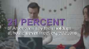 Many Americans consider breaking traditions to travel abroad during the holidays [Video]