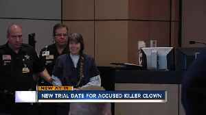 Trial date set for accused Wellington killer clown [Video]