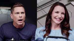 Rob Lowe and Kristin Davis Take a Lie Detector Test [Video]