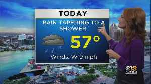 Meg McNamara Has A Look At Your Friday Afternoon Forecast [Video]