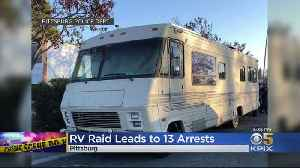 13 People Arrested After Pittsburg Police Raid RV [Video]