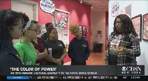 Artists Demand Cultural Equality In Comic Book World [Video]