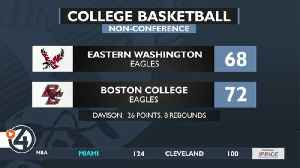 Eastern Eagles fall just short of upset bid over Boston College [Video]