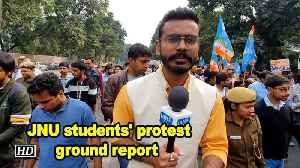 JNU students' protest ground report [Video]