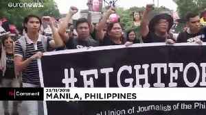 Massacre of journalists in Philippines marked 10 years on [Video]
