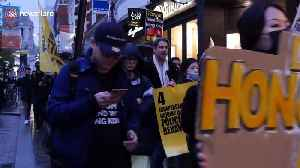 'Free Hong Kong' rally held in central London [Video]