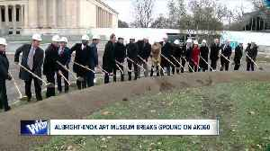New beginning for Albright-Knox Art Gallery [Video]