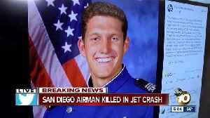 San Diego airman killed in Oklahoma jet crash [Video]