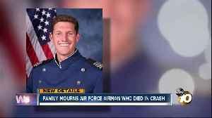 San Diegan among airmen killed in Oklahoma Air Force base crash [Video]