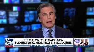 Judicial Watch president discusses new Strzok-Page emails [Video]