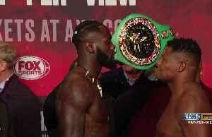 Wilder, Ortiz make weight for heavyweight rematch [Video]