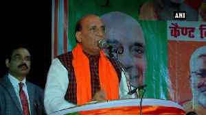 Pakistan sees its existence in opposing India Rajnath Singh [Video]