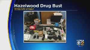 SWAT Seizes Heroin, Crack Cocaine, Marijuana And Weapons In Hazelwood Drugs Bust [Video]