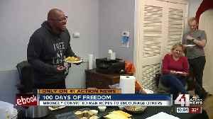 Exoneree Ricky Kidd expresses gratitude on 100th day of freedom [Video]