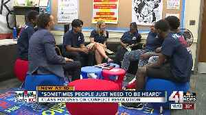 Restorative Justice class at Southeast High aims to curb teen violence [Video]