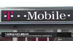 News video: Hackers Access T-Mobile Customer Information In Data Breach