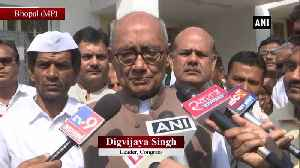 This is making mockery of constitution Digvijaya Singh on BJP NCP forming govt in Maharashtra [Video]