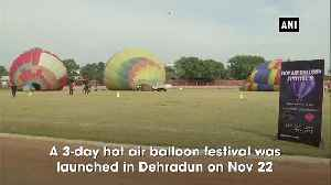 Uttarakhand CM inaugurates 3-day Hot Air Balloon Festival in Dehradun [Video]