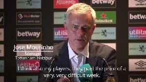 Jose Mourinho: I'm back in my habitat [Video]