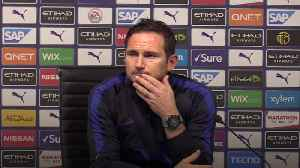 Frank Lampard admits the 'finer details' cost his team their 2-1 defeat to Manchester City [Video]
