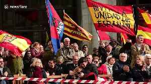 Hundreds of pro-Franco supporters demonstrate in Madrid [Video]