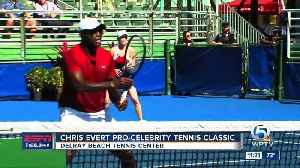 Chris Evert Pro-Celebrity Tennis Event [Video]