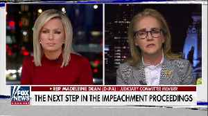 News video: Fox News host challenges Dem Rep. over impeachment hearings