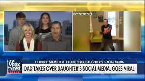 News video: Texas dad takes over daughter's social media as punishment