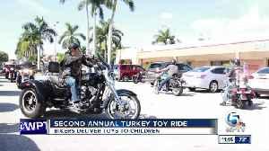 Turkey toy ride 11p.m. [Video]
