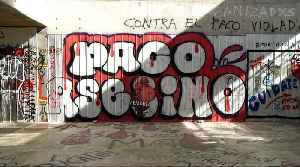 Chile unrest: Graffiti used to express rage [Video]