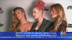 $366,000 Worth Of Jewelry Stolen From Rappers Iggy Aazalea and Playboi Carti [Video]
