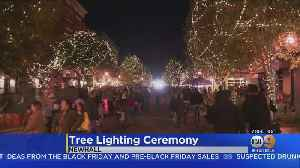 Sounds, Sights Of The Holidays Light Up Newhall, But Saugus High Remains At The Forefront [Video]