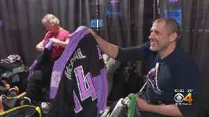 Avs' Hockey Fights Cancer Game Honors Cancer Survivors [Video]