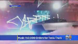 Sales Already Pouring In For Tesla's Cybertruck Despite 'Unbreakable' Windows Shattering During Demo [Video]