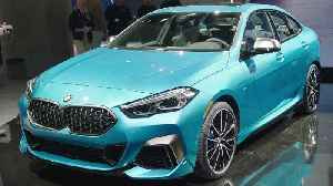 The new BMW 2 Series Coupe at LA Auto Show 2019 [Video]