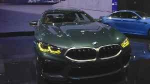 The new BMW M8 Gran Coupe at LA Auto Show 2019 [Video]
