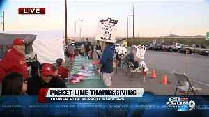 Thanksgiving day manned by Union Leaders for ASARCO teamsters [Video]