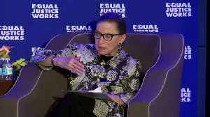 U.S. Justice Ginsburg home after another hospital stay [Video]