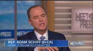 Schiff claims he wanted whistleblower to testify, but Trump 'put his life in danger' [Video]