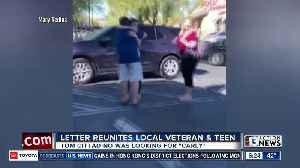 Letter brings together teen, veteran [Video]