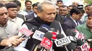 Maharashtra Governor should resign on moral grounds Ashok Gehlot [Video]
