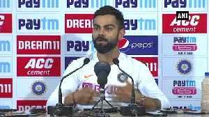 Virat praises team's pace bowlers [Video]