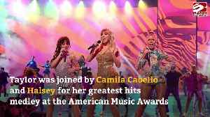 Taylor Swift's AMA guest performers [Video]