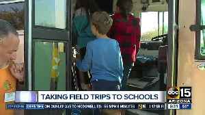 Chandler couple brings field trips to schools [Video]