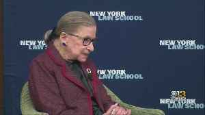 Ruth Bader Ginsburg Released From Johns Hopkins [Video]