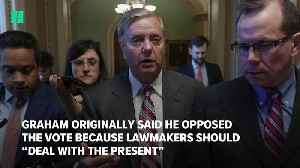 Lindsey Graham Continues To Bow To Trump [Video]
