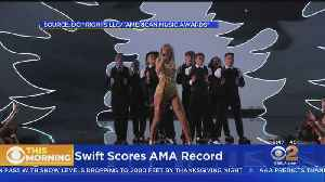 Taylor Swift Makes AMA History With 29th Win [Video]